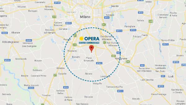 Spazi espositivi temporanei a Opera Milano